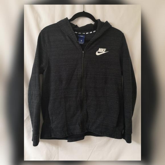 Nike dri fit performance zip up hoodie